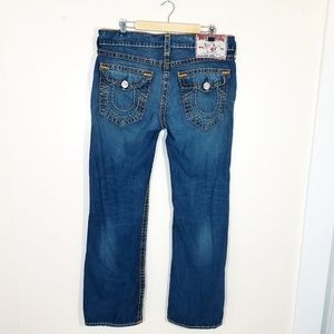True Religion Ricky Super T Straight Jeans